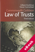 Cover of Commonwealth Caribbean Law of Trusts (eBook)