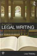 Cover of Legal Writing