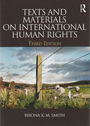 Cover of Text and Materials on International Human Rights