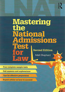 Cover of LNAT: Mastering the National Admissions Test for Law