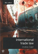 Cover of International Trade Law