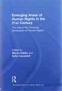 Cover of Emerging Areas of Human Rights in the 21st Century: The role of the Universal Declaration of Human Rights