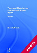 Cover of Text and Materials on International Human Rights (eBook)