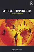 Cover of Critical Company Law