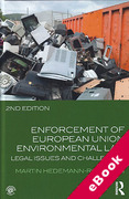 Cover of Enforcement of European Union Environmental Law (eBook)