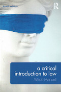 Cover of A Critical Introduction to Law