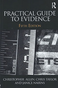 Cover of Practical Guide to Evidence