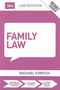 Cover of Routledge Revision Q&A: Family Law 2015 - 2016