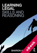 Cover of Learning Legal Skills and Reasoning (eBook)