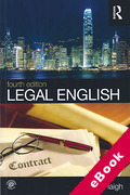 Cover of Legal English (eBook)