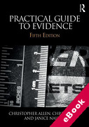 Cover of Practical Guide to Evidence (eBook)