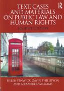 Cover of Text Cases and Materials on Public Law and Human Rights