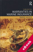 Cover of Warranties in Marine Insurance (eBook)