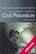 Cover of Commonwealth Caribbean Civil Procedure (eBook)