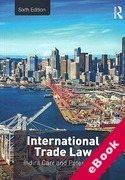 Cover of International Trade Law (eBook)