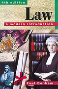 Cover of Law: A Modern Introduction
