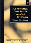 Cover of An Historical Introduction to Modern Civil Law