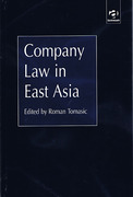 Cover of Company Law in East Asia