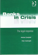 Cover of Banks in Crisis: The Legal Response