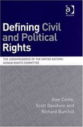 Cover of Defining Civil and Political Rights