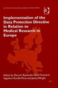 Cover of Implementation of the Data Protection Directive in Relation to Medical Research in Europe