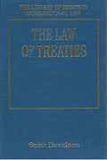 Cover of The Law of Treaties