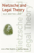 Cover of Nietzsche & Legal Theory: Half Written Laws