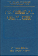 Cover of The International Criminal Court