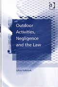 Cover of Outdoor Activities, Negligence and the Law