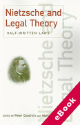 Cover of Nietzsche & Legal Theory: Half Written Laws (eBook)