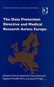 Cover of The Data Protective Directive and Medical Research Across Europe (eBook)