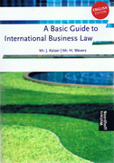 Cover of A Basic Guide to International Business Law