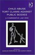 Cover of Child Abuse Tort Claims Against Public Bodies: A Comparative Law View