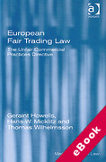 Cover of European Fair Trading Law: The Unfair Commercial Practices Directive (eBook)