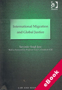 Cover of International Migration and Global Justice (eBook)