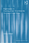 Cover of Fairness in Consumer Contracts: The Case of Unfair Terms