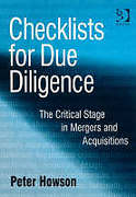 Cover of Checklists for Due Diligence