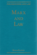 Cover of Marx and Law
