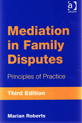 Cover of Mediation in Family Disputes