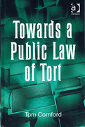 Cover of Towards a Public Law of Tort