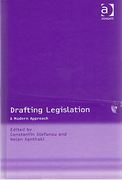 Cover of Drafting Legislation: A Modern Approach