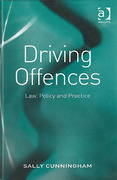 Cover of Driving Offences: Law, Policy and Practice