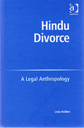 Cover of Hindu Divorce: A Legal Anthropology