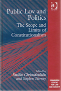 Cover of Public Law and Politics: The Scope and Limits of Constitutionalism