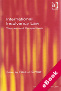 Cover of International Insolvency Law: Themes and Perspectives (eBook)