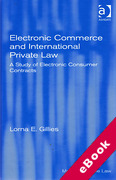 Cover of Electronic Commerce and International Private Law: A Study of Electronic Consumer Contracts (eBook)