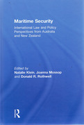 Cover of Maritime Security: International Law and Policy Perspectives from Australia and New Zealand