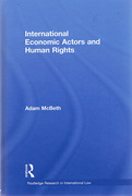 Cover of International Economic Actors and Human Rights