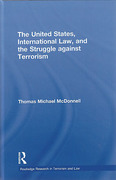 Cover of The United States, International Law and the Struggle against Terrorism