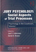 Cover of Jury Psychology: Social Aspects of Trial Processes